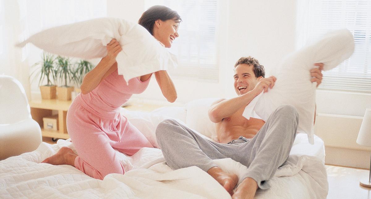 batailles d'oreillers